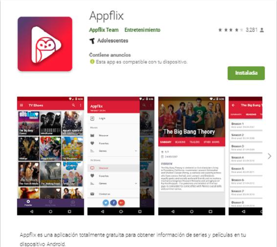 cómo descargar appflix